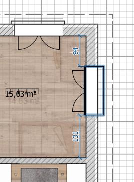 Fenster und Türen bei Sweet Home 3D platzieren