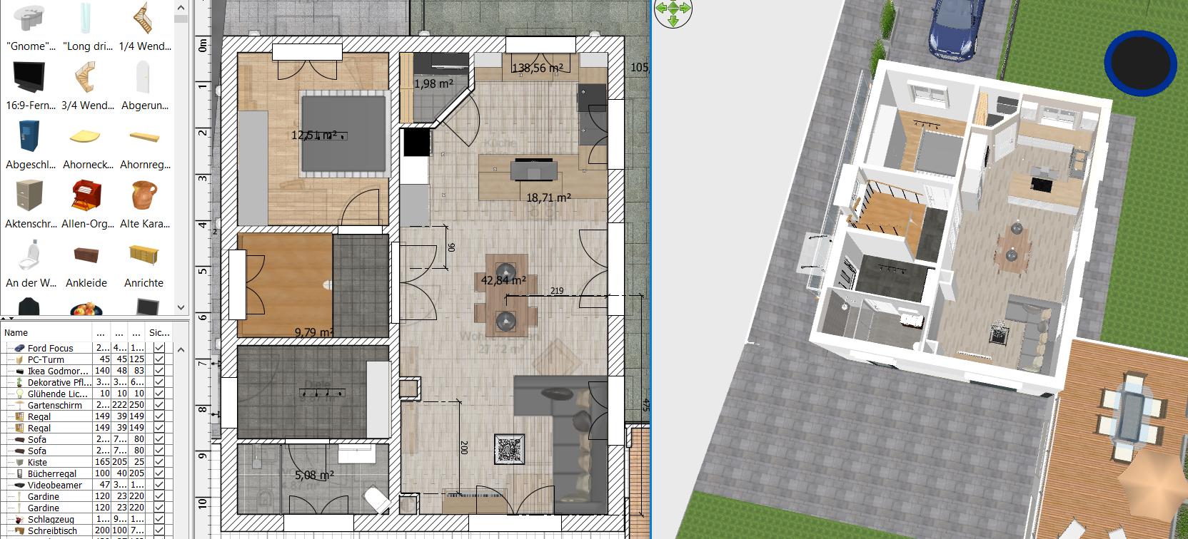 sweet home 3d anleitung f r einsteiger hausplanung in 3d. Black Bedroom Furniture Sets. Home Design Ideas